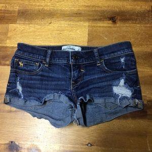 Abercrombie & Finch Girls Jean Shorts Size 14